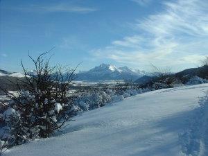 1. Montagne en neige 6